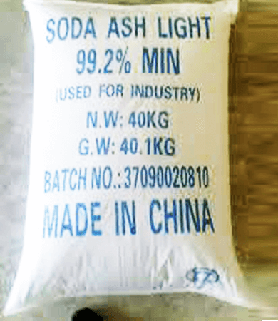 Muối soda ash light - Na2CO3 99%