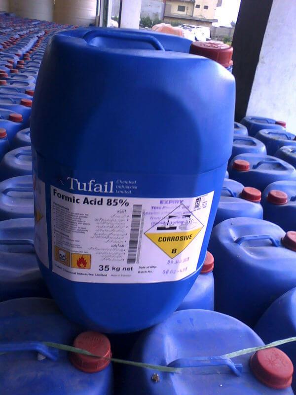 HÓA CHẤT Acid formic - HCOOH 85%