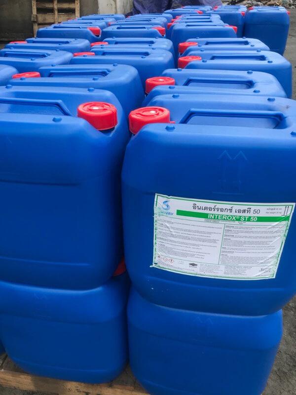 H2O2 - OXY GIÀ 50% Thái Lan 2